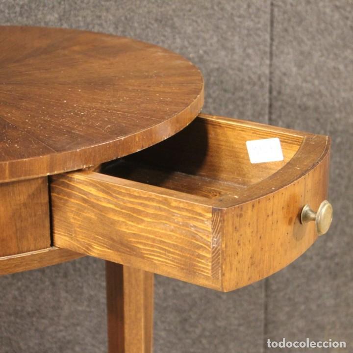 Antigüedades: Mesa francesa en caoba y madera de haya - Foto 5 - 222793102