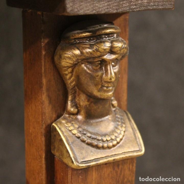 Antigüedades: Mesa francesa en caoba y madera de haya - Foto 6 - 222793102