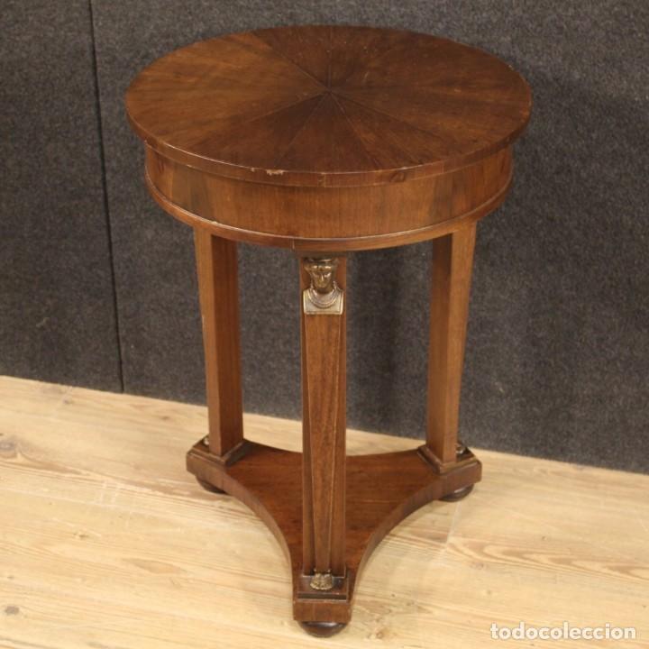 Antigüedades: Mesa francesa en caoba y madera de haya - Foto 7 - 222793102