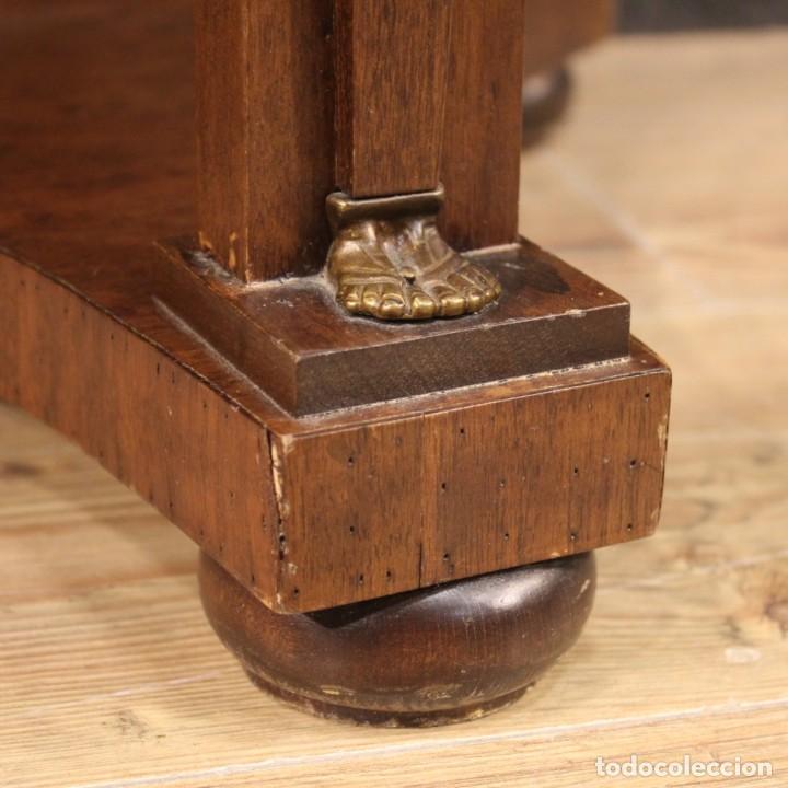 Antigüedades: Mesa francesa en caoba y madera de haya - Foto 8 - 222793102