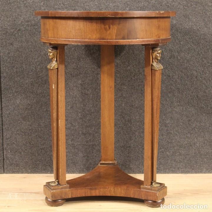 Antigüedades: Mesa francesa en caoba y madera de haya - Foto 9 - 222793102