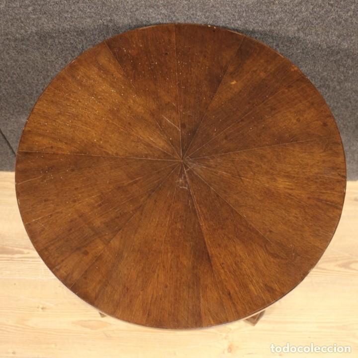 Antigüedades: Mesa francesa en caoba y madera de haya - Foto 10 - 222793102