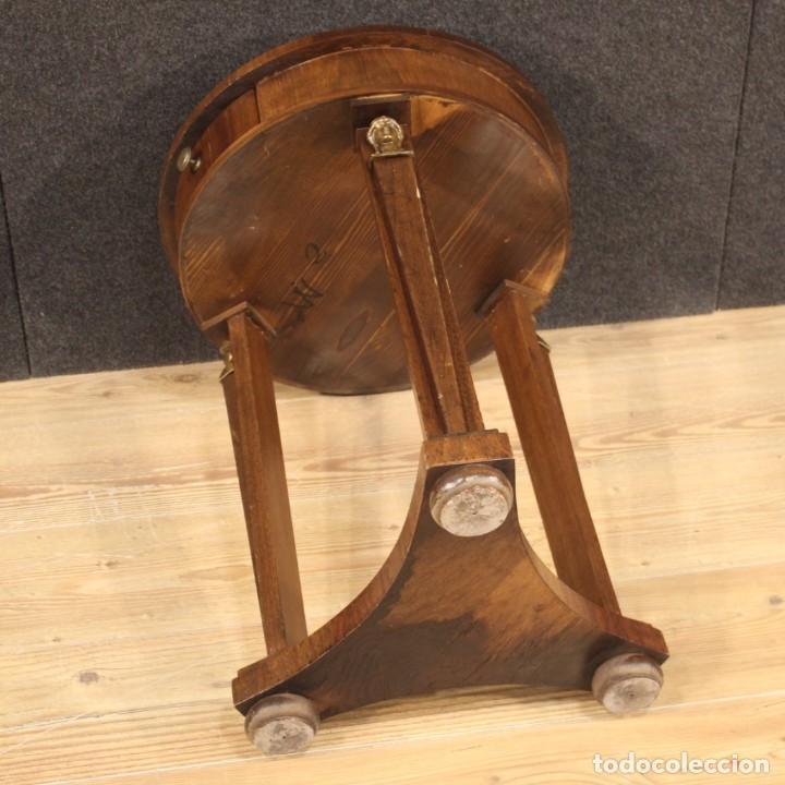Antigüedades: Mesa francesa en caoba y madera de haya - Foto 11 - 222793102