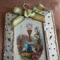 Antigüedades: ESCAPULARIO S XIX. Lote 222794630