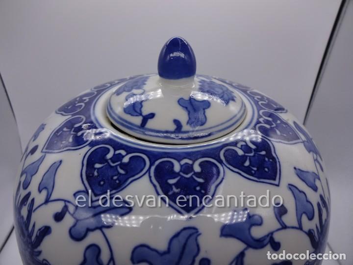 Antigüedades: Gran jarron porcelana china. Primera mitad siglo XX. 33 ctms de altura - Foto 2 - 222804780