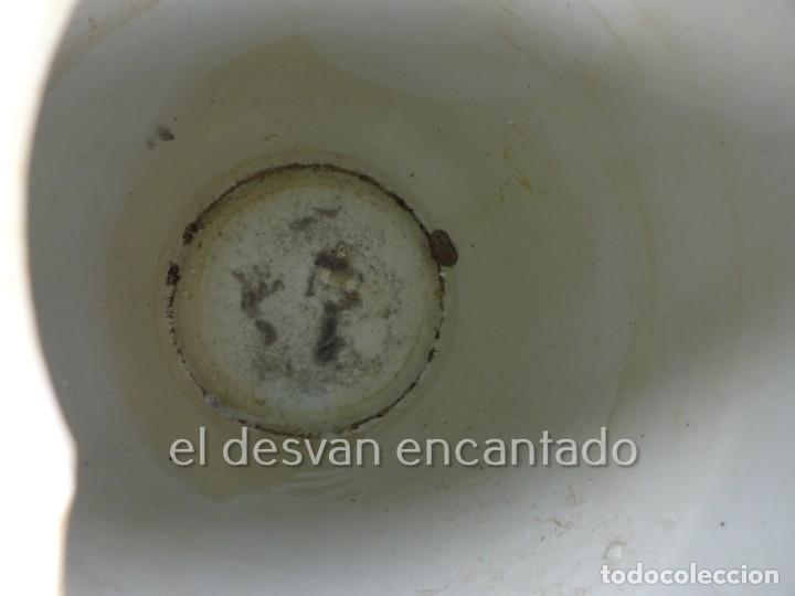 Antigüedades: Gran jarron porcelana china. Primera mitad siglo XX. 33 ctms de altura - Foto 7 - 222804780