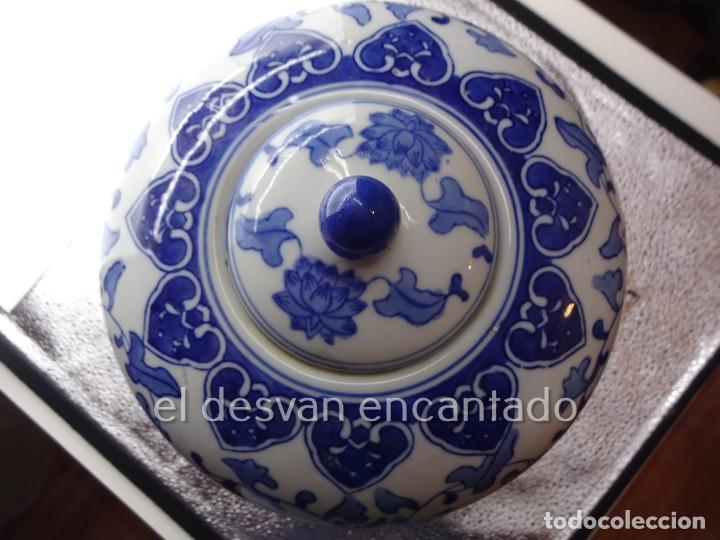 Antigüedades: Gran jarron porcelana china. Primera mitad siglo XX. 33 ctms de altura - Foto 9 - 222804780