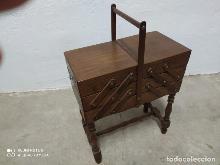 COSTURERO ROBLE (Antigüedades - Muebles Antiguos - Auxiliares Antiguos)