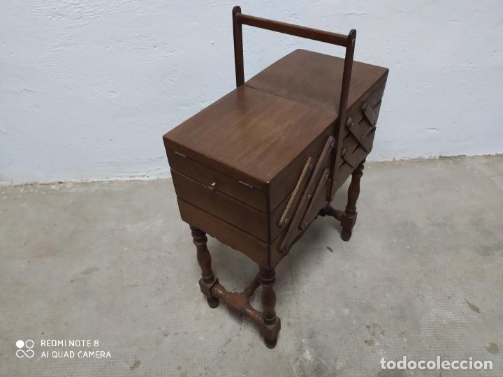 Antigüedades: Costurero roble - Foto 2 - 222813861