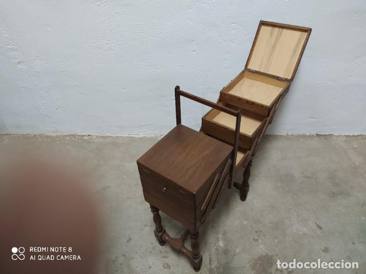 Antigüedades: Costurero roble - Foto 3 - 222813861