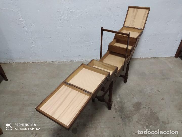 Antigüedades: Costurero roble - Foto 4 - 222813861