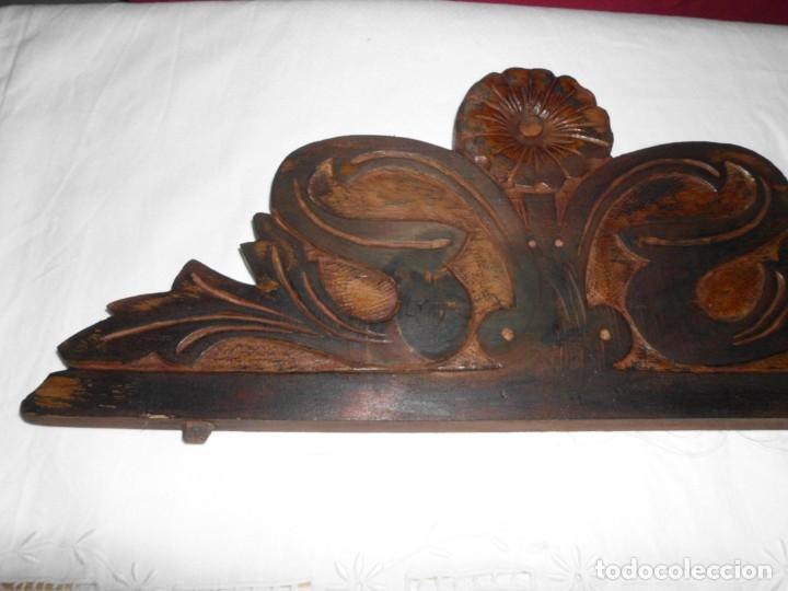 Antigüedades: Copete de cama modernista - Foto 2 - 222830627
