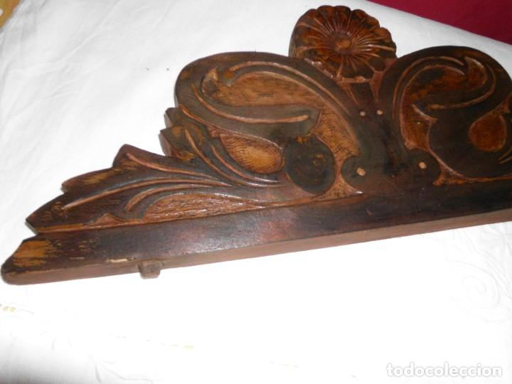 Antigüedades: Copete de cama modernista - Foto 4 - 222830627