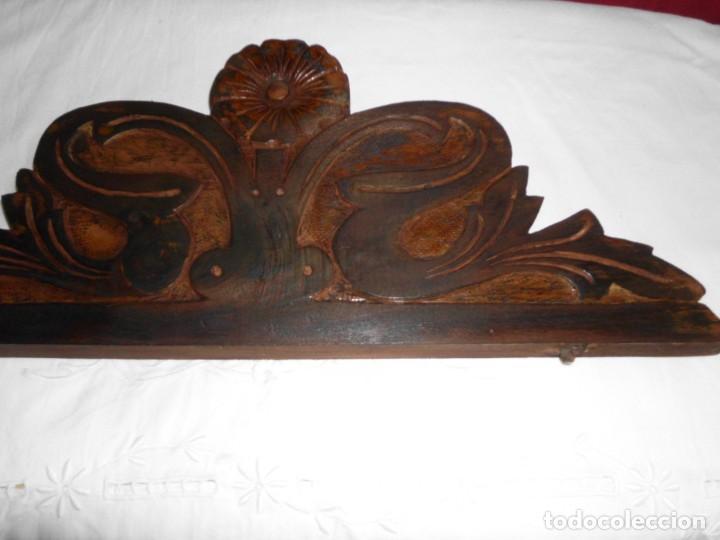 Antigüedades: Copete de cama modernista - Foto 6 - 222830627