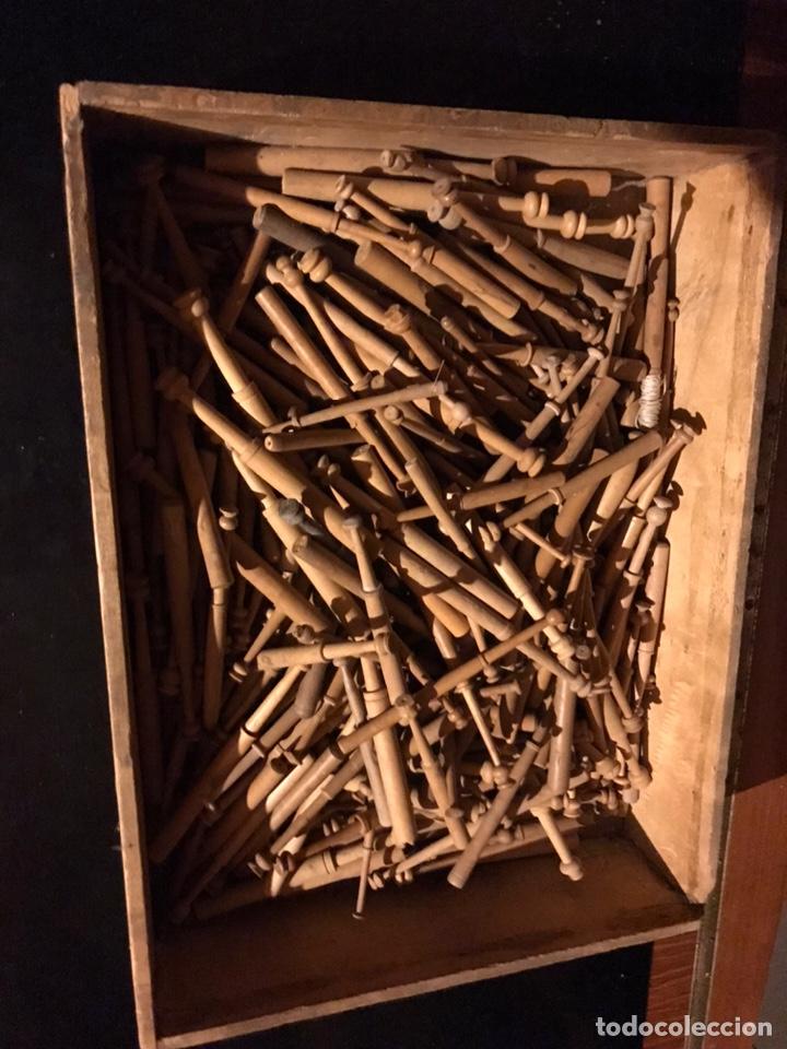 Antigüedades: Bolillos de madera lote 250 unidades - Foto 2 - 222836961