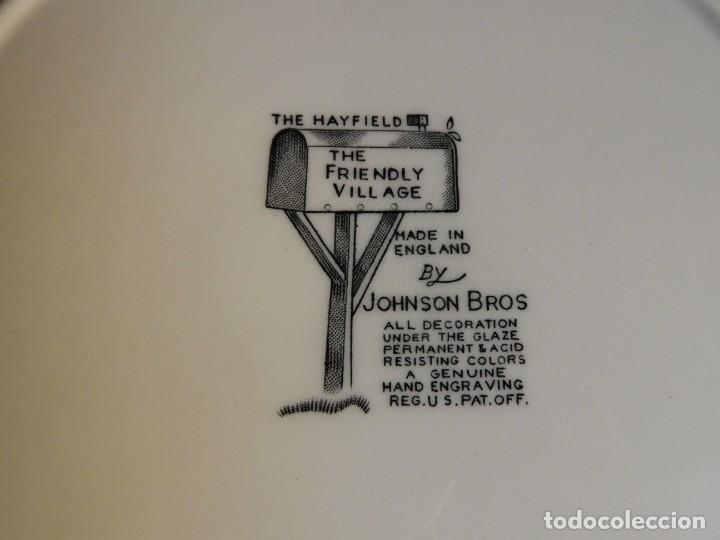 Antigüedades: COLECCION DE PLATOS DE CERAMICA DE PAISAJES DE JOHNSON BROS - Foto 15 - 222840582