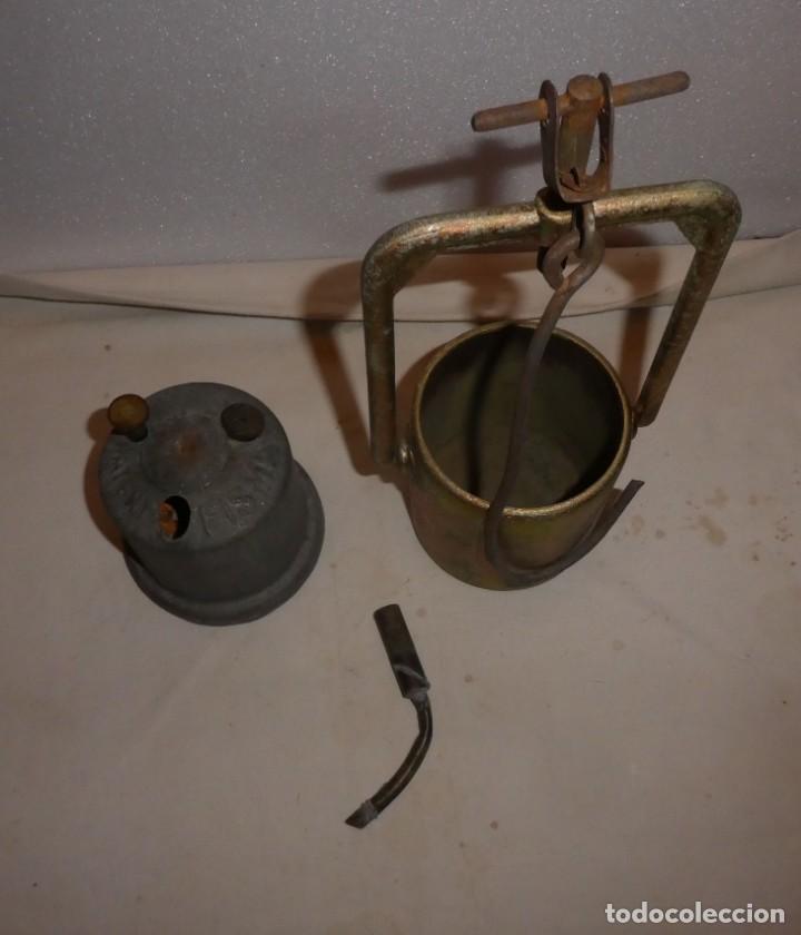 CARBURERO PATENT FISMA (Antigüedades - Iluminación - Otros)
