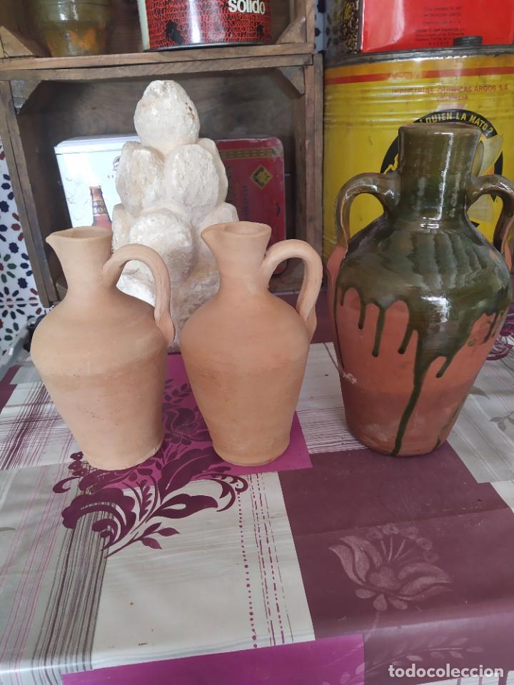 CÁNTAROS DE NIÑA (Antigüedades - Porcelanas y Cerámicas - Otras)
