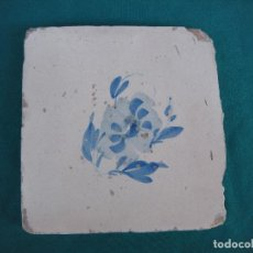 Antigüedades: AZULEJO S.XVIII MANISES. Lote 222854085