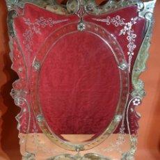 Antigüedades: ESPEJO VENECIANO SIGLO XIX. Lote 222859226