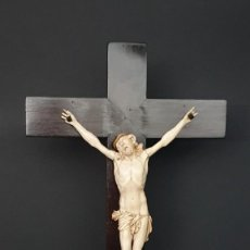 Antigüedades: CRISTO DE MARFIL. Lote 222872710