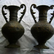 Antigüedades: 2 ÁNFORAS DE CALAMINA. Lote 222880386