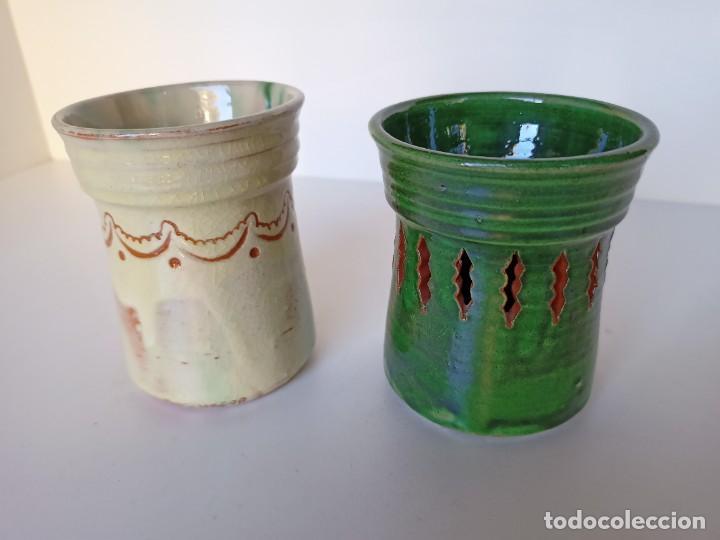 LAPICEROS DE CERÁMICA DE ÚBEDA (Antigüedades - Porcelanas y Cerámicas - Úbeda)