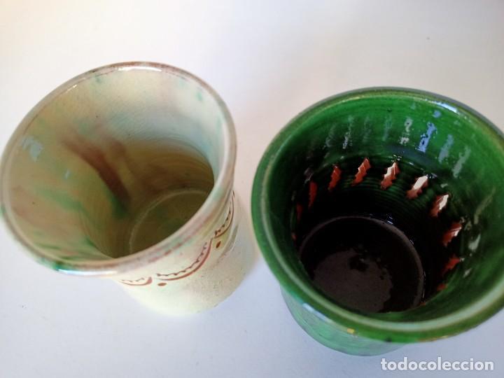 Antigüedades: Lapiceros de cerámica de Úbeda - Foto 3 - 222892111