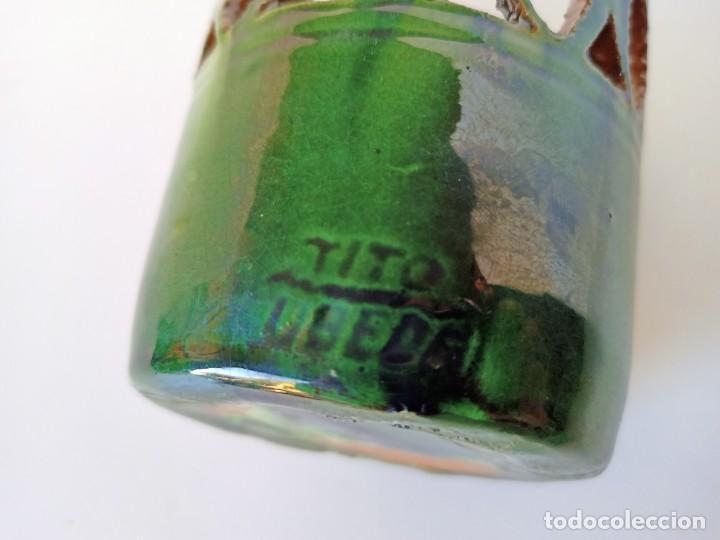 Antigüedades: Lapicero de cerámica de Úbeda, Tito - Foto 3 - 253025380