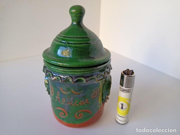 AZUCARERO DE CERÁMICA DE ÚBEDA (Antigüedades - Porcelanas y Cerámicas - Úbeda)