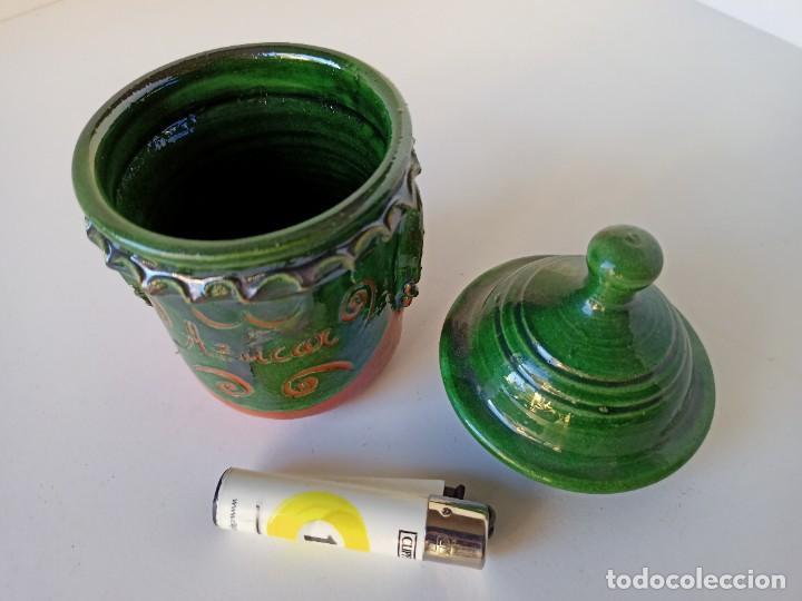 Antigüedades: Azucarero de cerámica de Úbeda - Foto 3 - 222892242