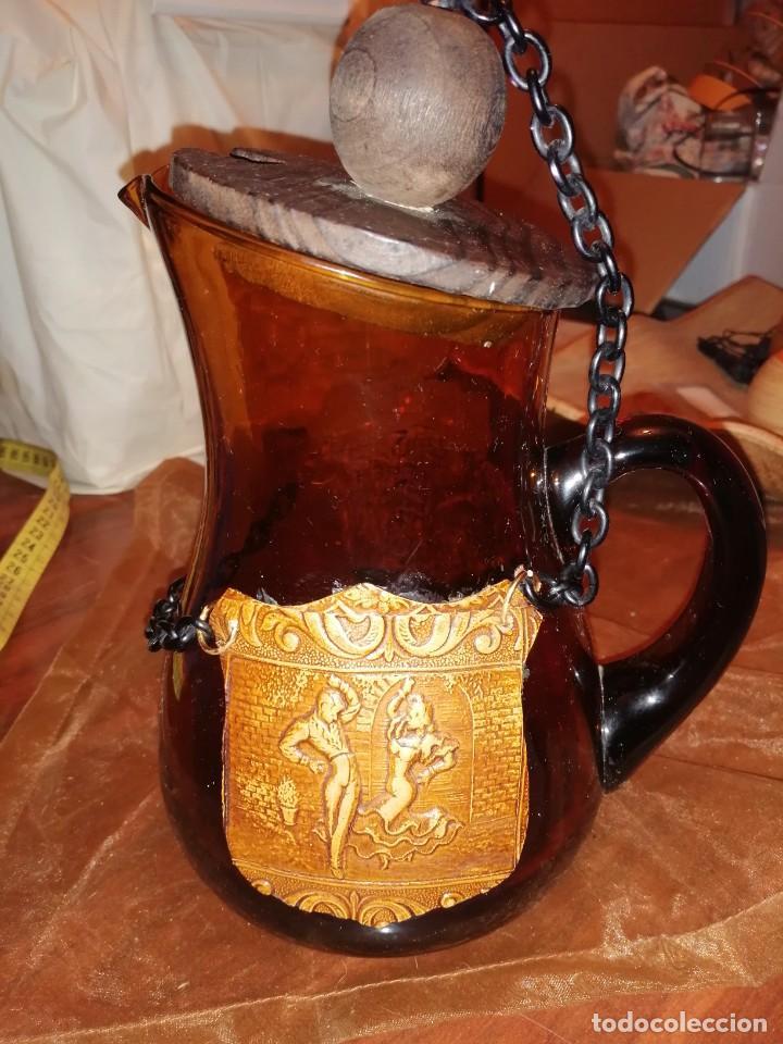 ANTIGUA JARRA (Antigüedades - Cristal y Vidrio - Otros)
