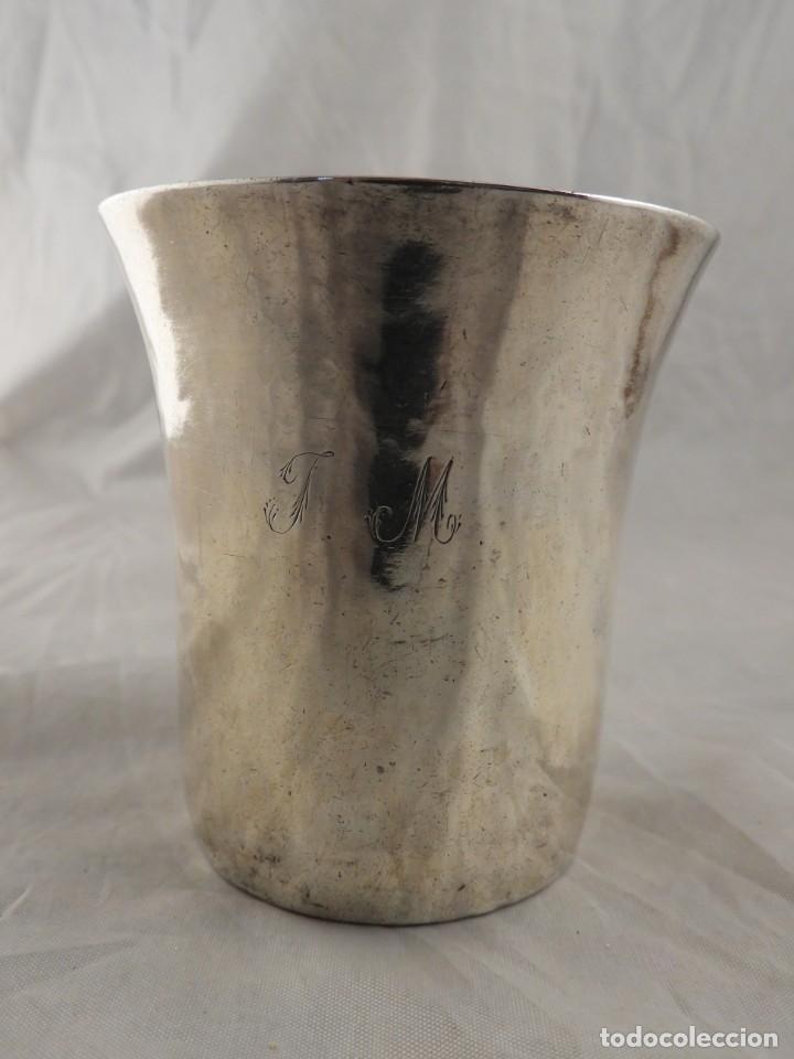 Antigüedades: MAGNIFICO VASO DE PLATA ANTIGUA 1703-1704 - Foto 2 - 222902842