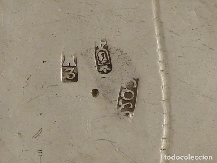 Antigüedades: MAGNIFICO VASO DE PLATA ANTIGUA 1703-1704 - Foto 6 - 222902842