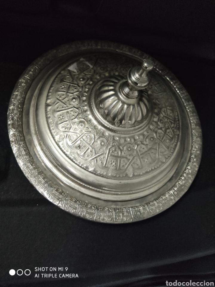 Antigüedades: PRECIOSA BANDEJA ÁRABE PARA PASTELES. - Foto 3 - 222918346