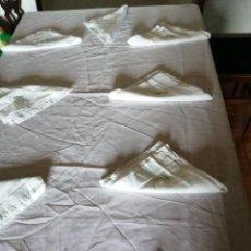 Antigüedades: ANTIGUO MANTEL CON BORDADO A MANO. Lote 222922511