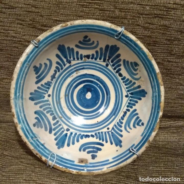 CUENCO CERAMICA S.XVIII. TOLEDO- TALAVERA. (Antigüedades - Porcelanas y Cerámicas - Talavera)