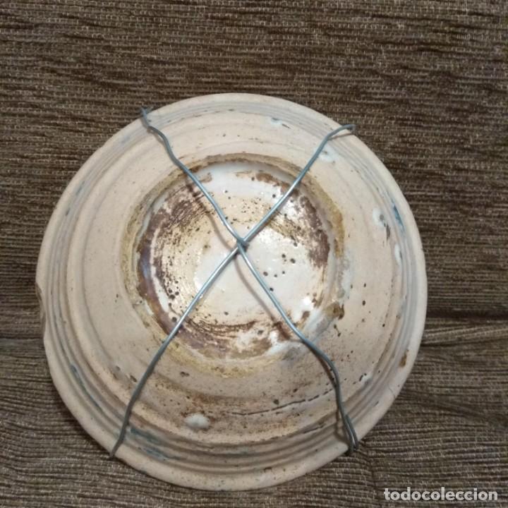 Antigüedades: Cuenco ceramica S.XVIII. Toledo- Talavera. - Foto 2 - 222954280