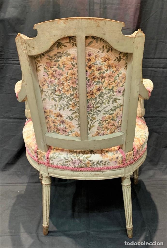 Antigüedades: Par de sillones Luis XVI - Foto 3 - 222958455