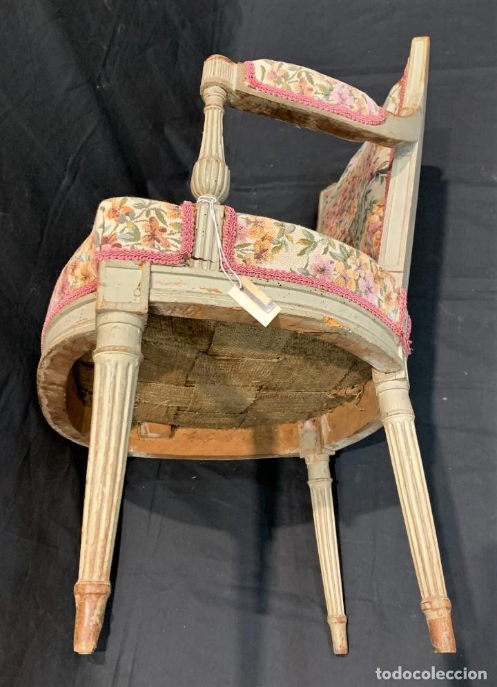 Antigüedades: Par de sillones Luis XVI - Foto 4 - 222958455