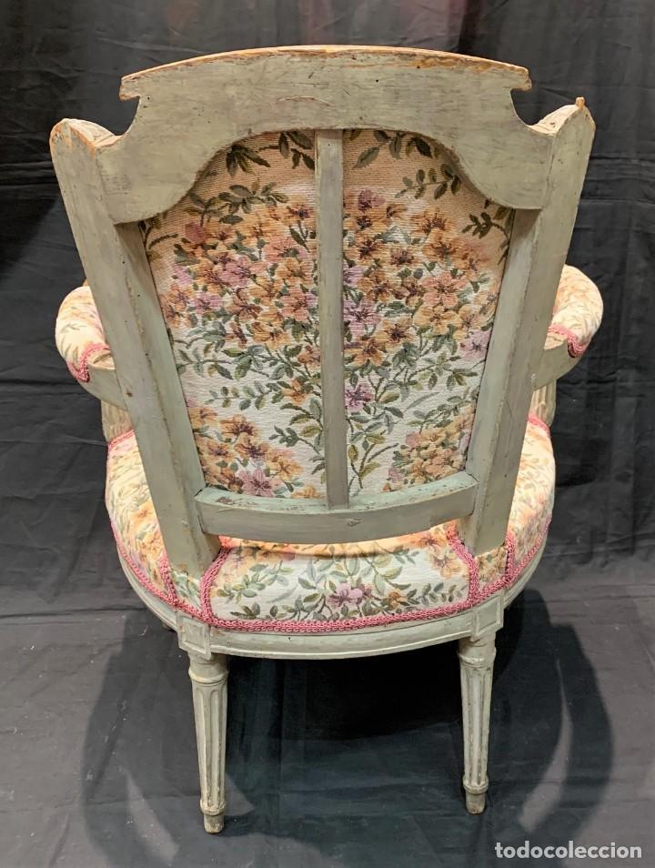 Antigüedades: Par de sillones Luis XVI - Foto 6 - 222958455