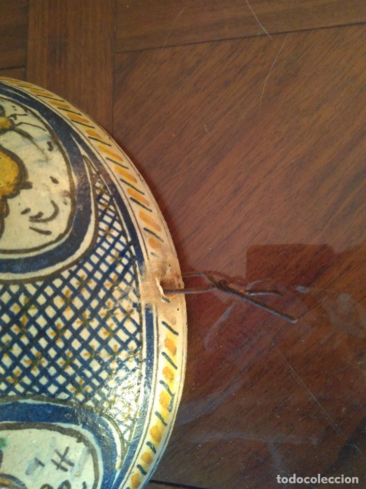 Antigüedades: Macetero de colgar de cerámica de Triana. - Foto 8 - 222960031