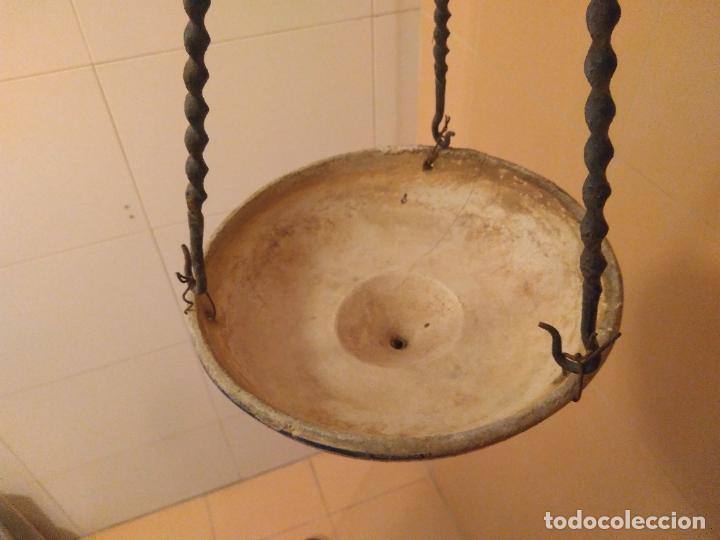Antigüedades: Macetero de colgar de cerámica de Triana. - Foto 15 - 222960031