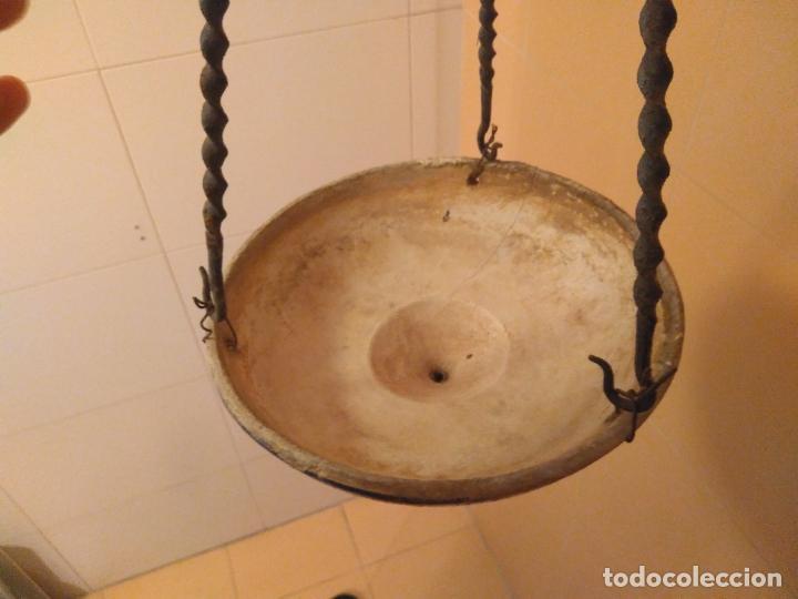 Antigüedades: Macetero de colgar de cerámica de Triana. - Foto 16 - 222960031