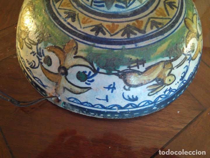 Antigüedades: Macetero de colgar de cerámica de Triana. - Foto 15 - 222960178