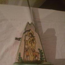 Antigüedades: PILILLA BENDITERA DE PUENTE DEL ARZOBISPO. Lote 222979481