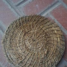 Antigüedades: TAPADERA ESPARTO DE TINAJA. Lote 223014261