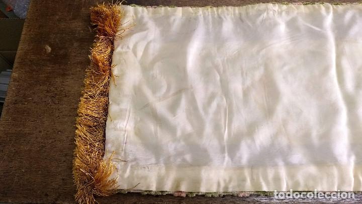 Antigüedades: Camino de mesa o tapete - Foto 6 - 223022768