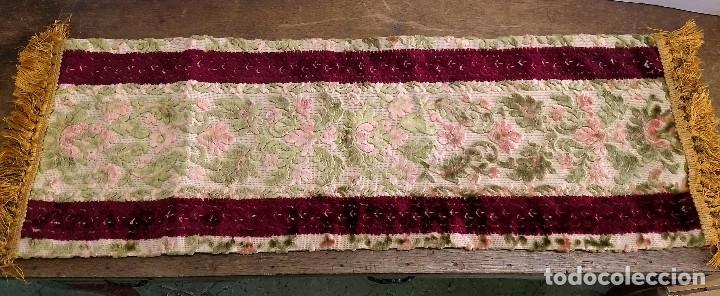 Antigüedades: Camino de mesa o tapete - Foto 8 - 223022768