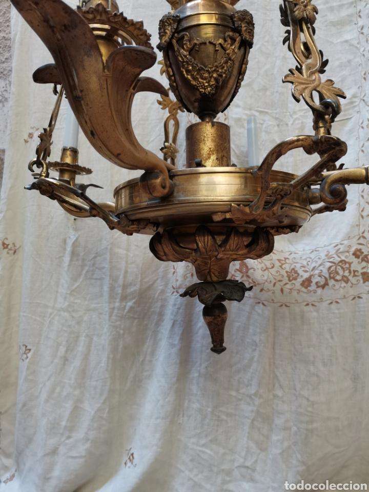 Antigüedades: Lampara Francesa del xix - Foto 2 - 223057881